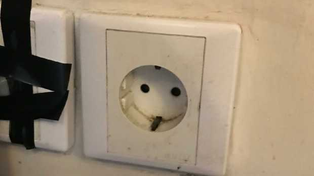 An Australian father claims his son was injured by a power socket in a five-star Bali hotel.