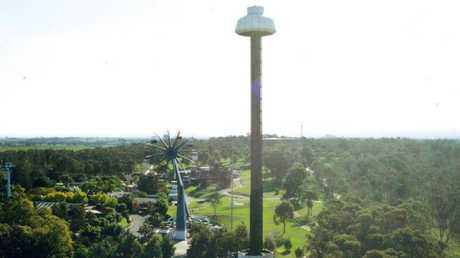 There were sky-high thrills at Wonderland. Picture: Chris Watts