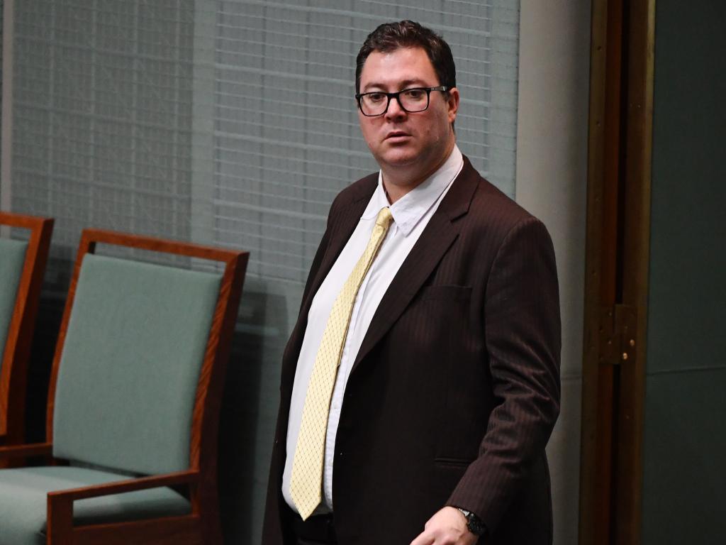 Member for Dawson George Christensen in Parliament