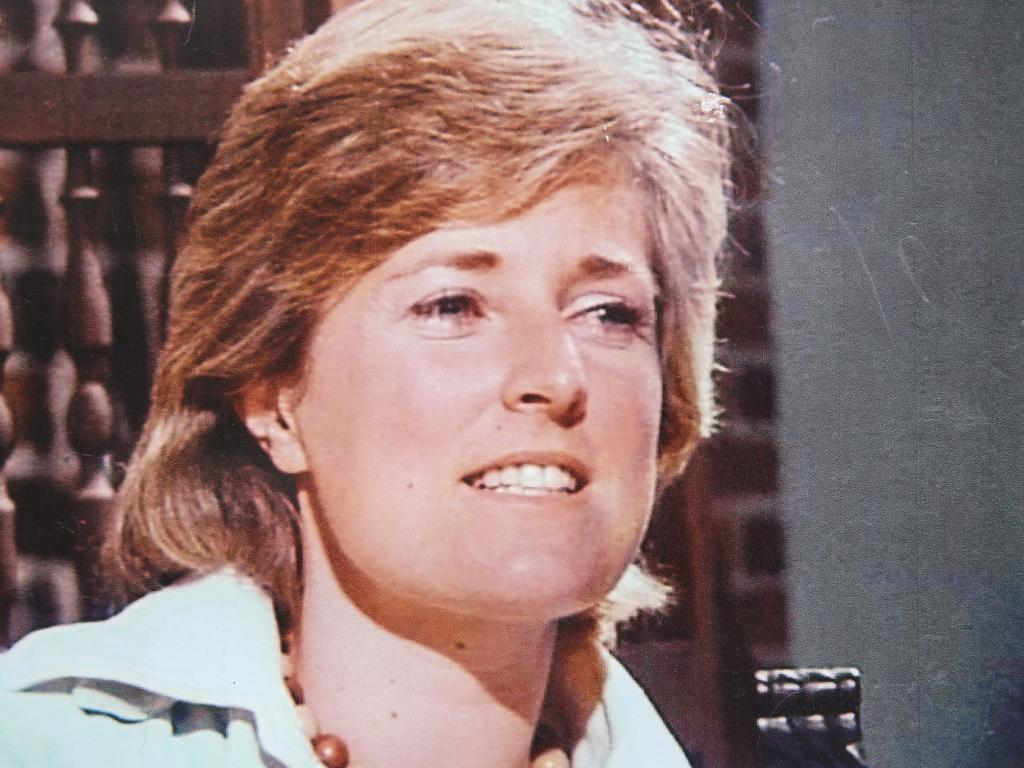 Lyn Dawson before her disappearance in the 1980s. Picture: Justin Lloyd