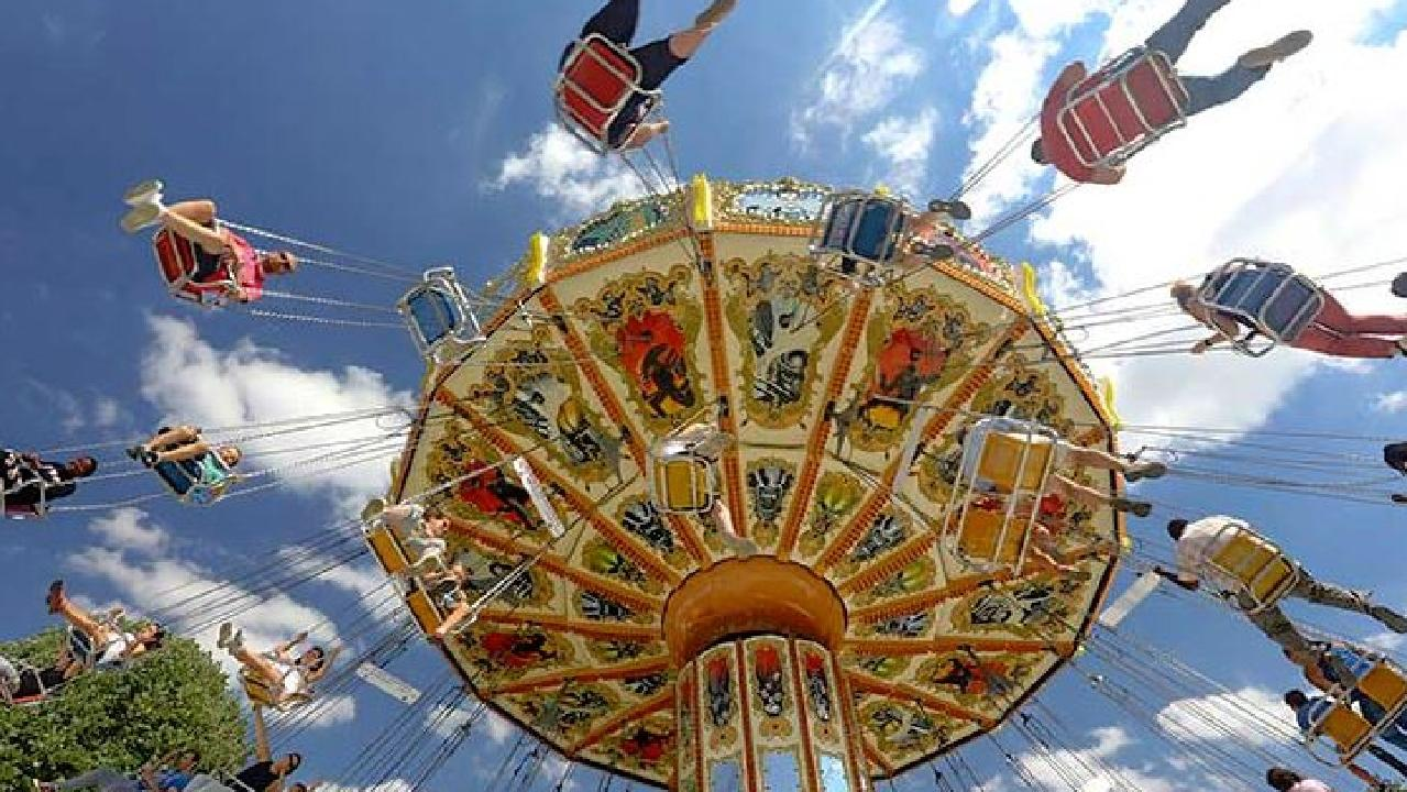The Flying Carousel ride which is scheduled to arrive at Luna Park for February 2019. Picture: Supplied