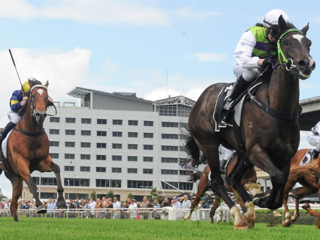 Jockey Jess Taylor rides Girls Are Ready to victory at Warwick Farm. Picture: AAP