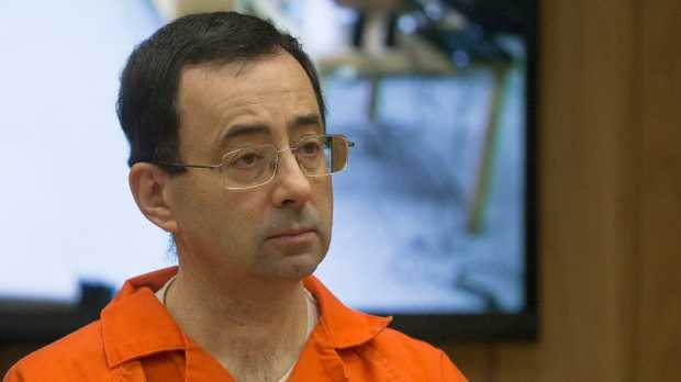 February 5, 2018: Former Michigan State University and USA Gymnastics doctor Larry Nassar appears in court.
