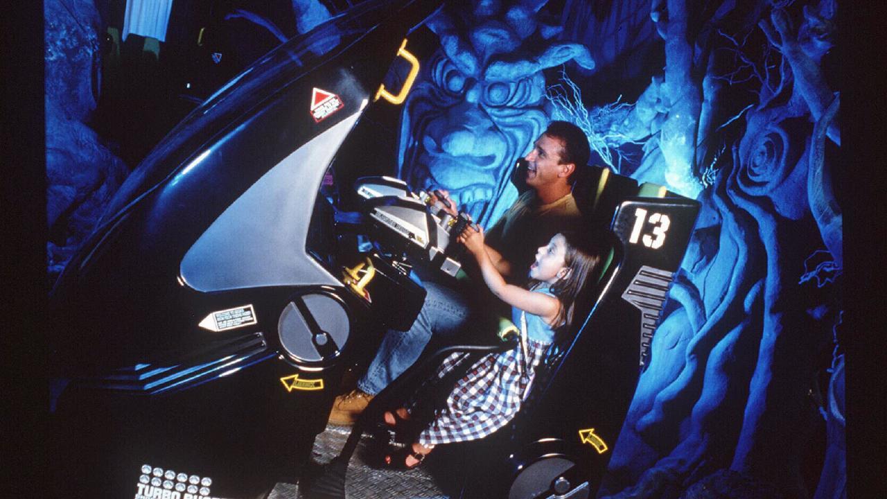 The ghost hunters ride at Sega World. Picture: News Corp Australia