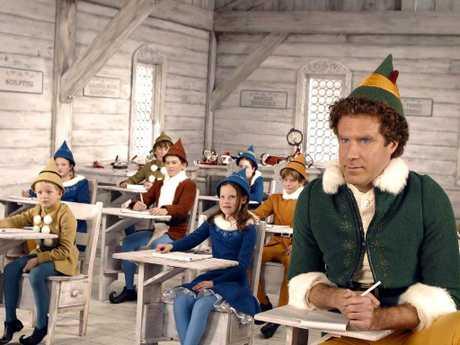 Will Ferrell as Buddy the Elf. Classic.