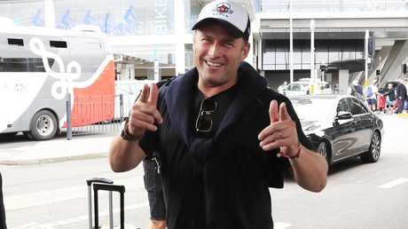 Karl Stefanovic arrives in Sydney.