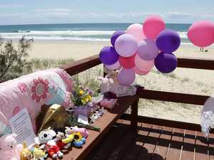 Mother of dead beach baby tried to escape
