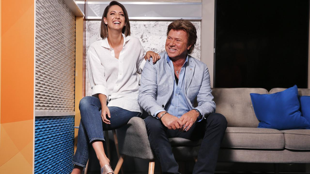 Today Extra host Richard Wilkins with Brooke Boney will work alongside him to deliver entertainment news for Today. Picture: Sam Ruttyn