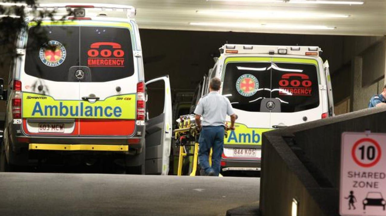 Paramedics were attending to the child. (File picture)