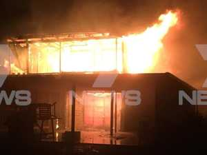 Kingsthorpe house consumed by flames overnight