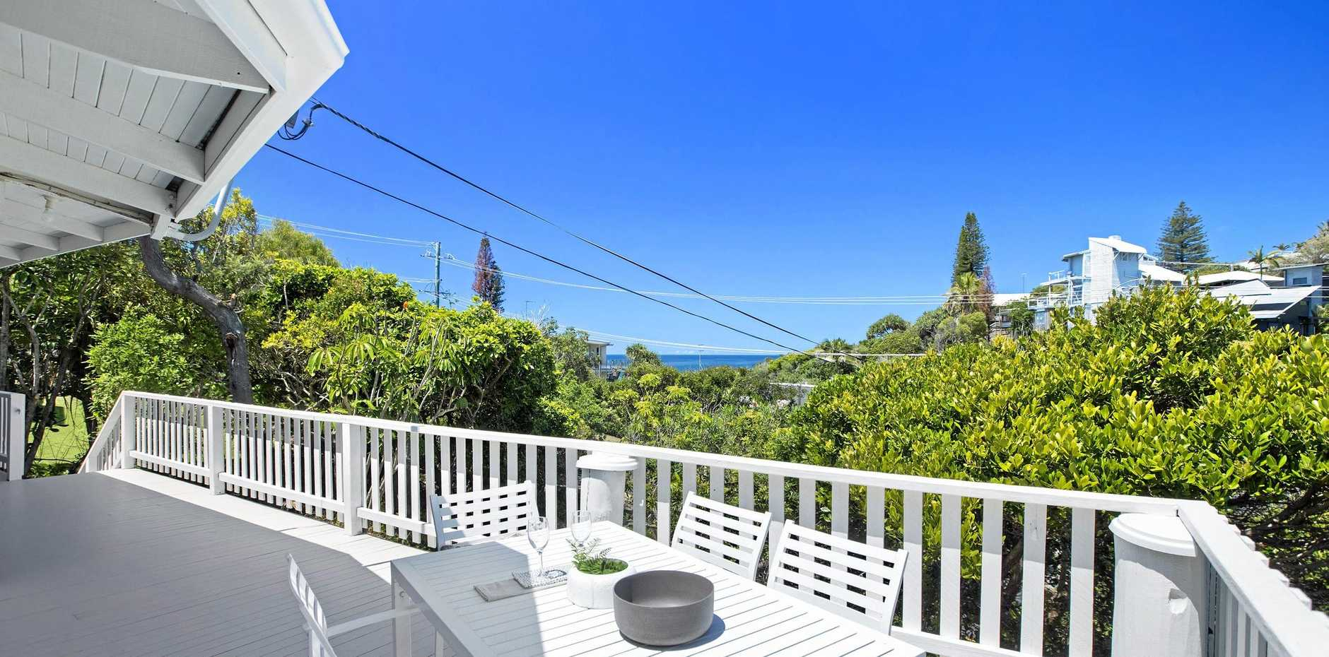 WHAT A VIEW: The view from 47 Seaview Terrace, Sunshine Beach.