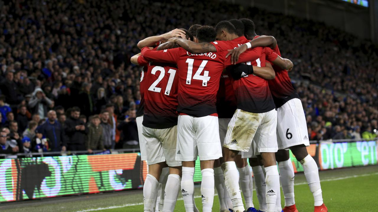 United at last: The Red Devils finally look like a team.
