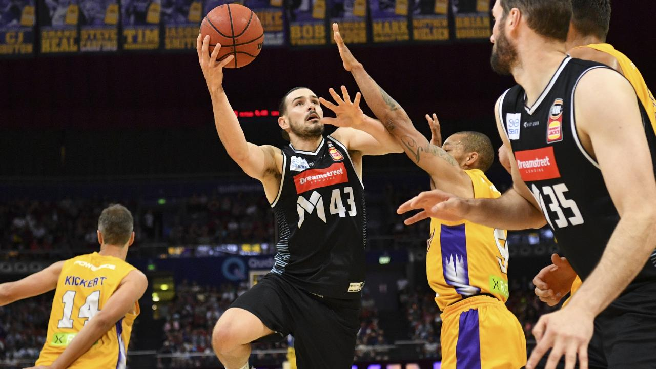 Chris Goulding was again impressive for Melbourne United. Picture: AAP
