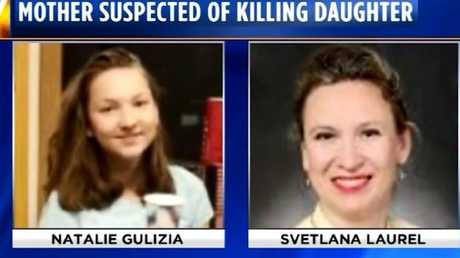 Svetlana Laurel has been charged with murder, accused of fatally shooting her daughter 14-year-old Natalie Gulizia. Photo: CNN