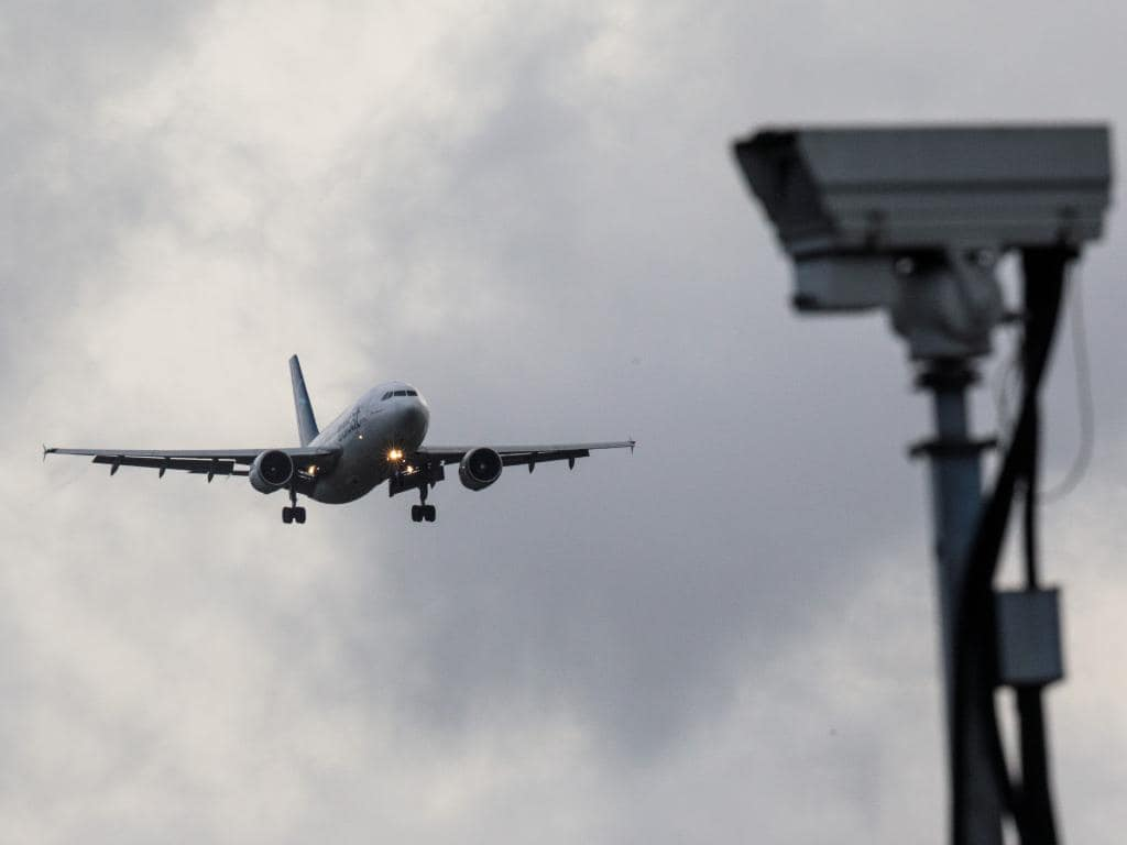 An aircraft comes in to land as the runway is reopened at Gatwick Airport. Picture: Getty