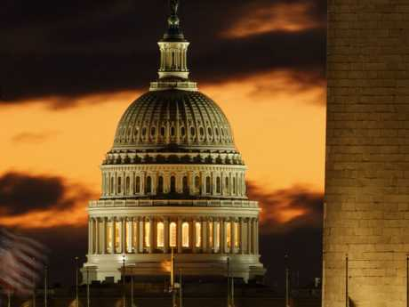 The shutdown began after Democrats refused to meet President Donald Trump's demands for $5 billion to start erecting a border wall with Mexico. Picture: AP
