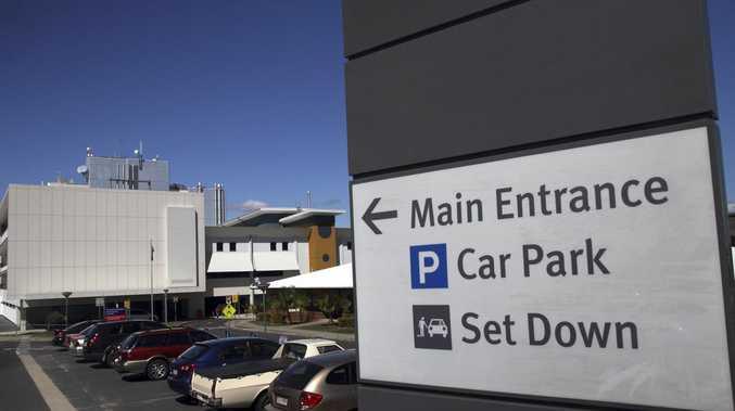 Rockhampton Hospital parking