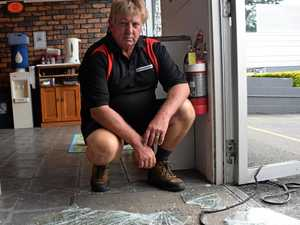 Gympie shops hit by thieves on eve of Christmas