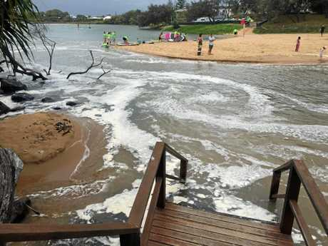 High tides and strong winds, which caused Oaks and Neilson Park beaches to close this morning, could have a similar affect for Christmas and Boxing Day.