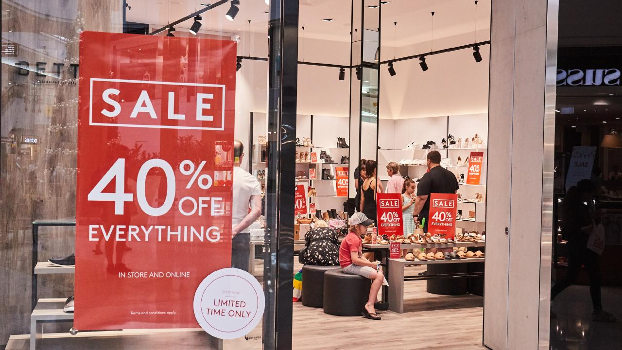 The 2018 Boxing Day sales are just around the corner. Picture: Matt Loxton/AAP