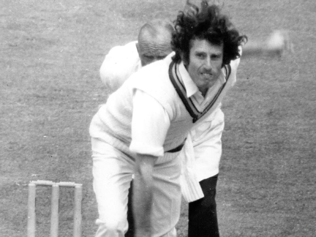 English fast bowler John Snow.