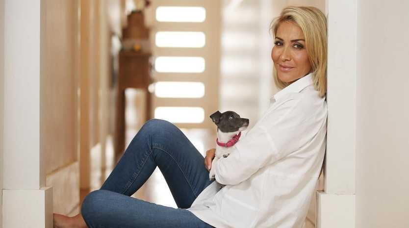 Samantha X at her Bondi home. Picture: Sam Ruttyn