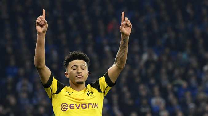 Jadon Sancho has attracted a lot of attention since his move to Dortmund.