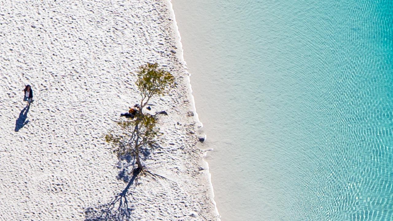 The wonderful Fraser Island.