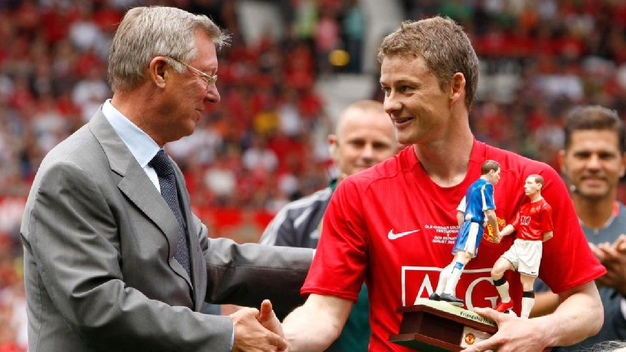 Fergie was instrumental in bringing Ole Gunnar Solskjaer back to the club as boss