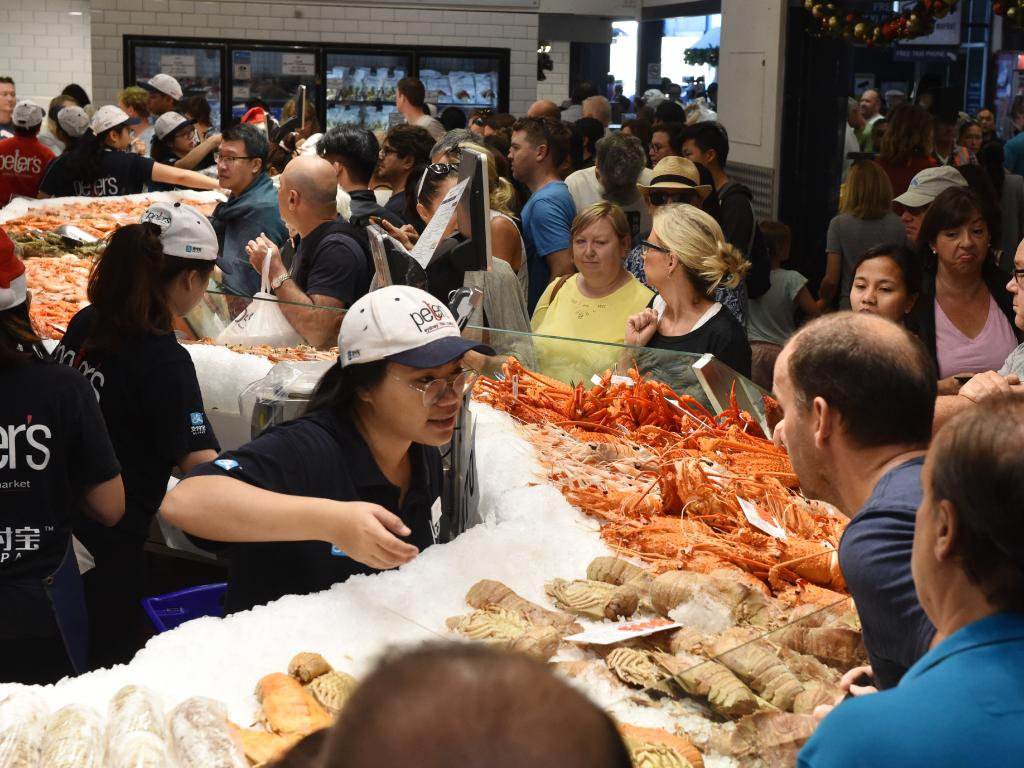 Customers will buy 700 tonnes of seafood this year. Picture: Mick Tsikas