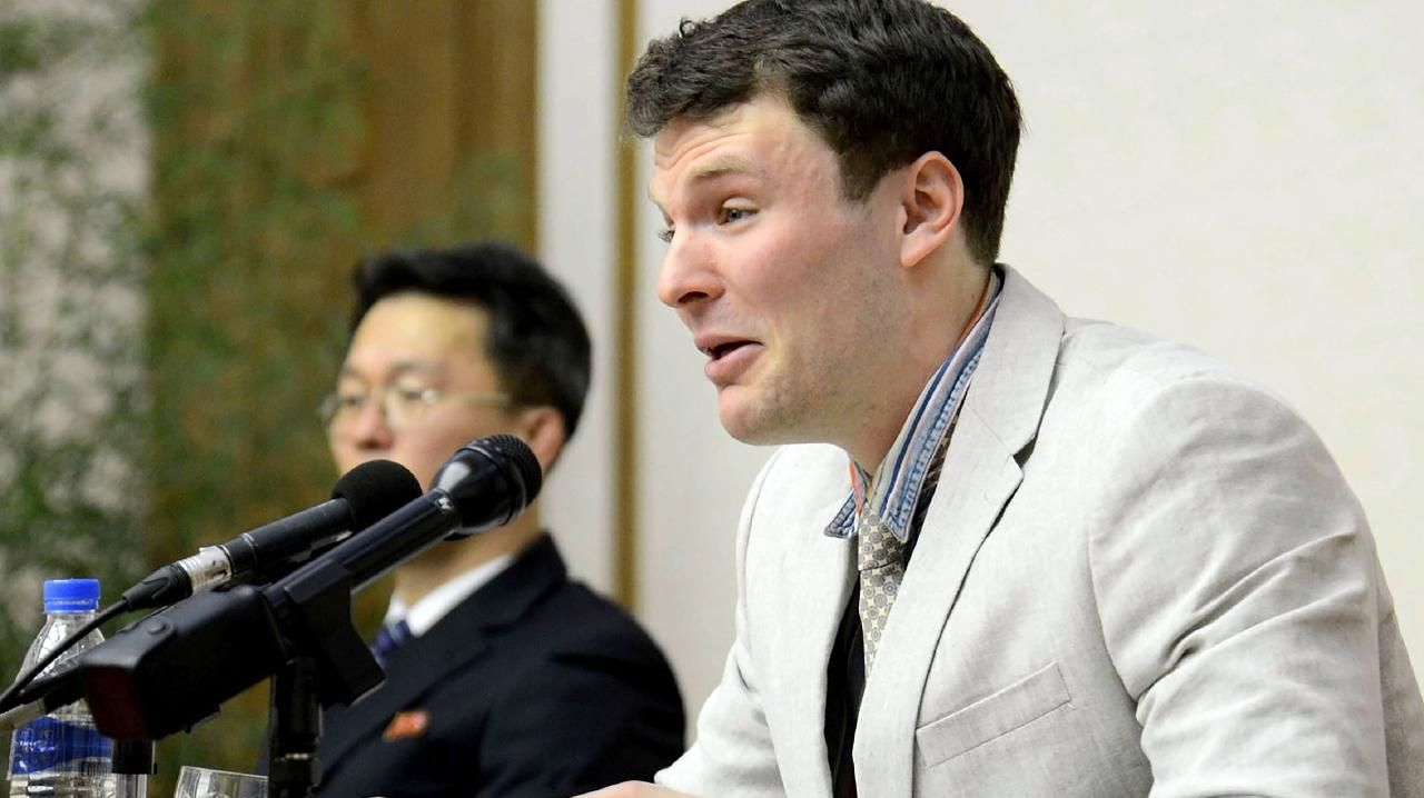 North Korea has been asked to pay $500m over the death. Picture: AFP PHOTO / KCNA / KCNA VIA KNS