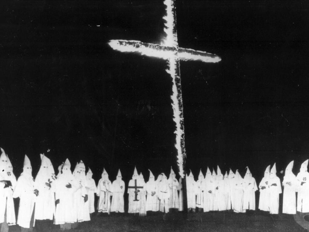 "The name of the KKK came from the Greek ""kyklos"" meaning circle."