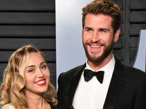 Miley and Liam hold 'secret wedding'