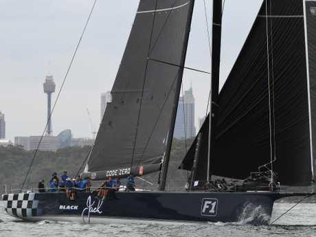 Queensland boat Black Jack. Picture: AAP Image
