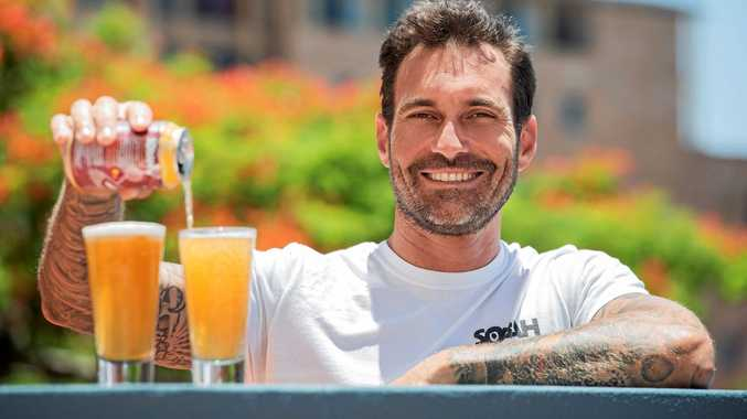 Clinton Schultz is the founder of Sobah, a non-alcoholic beer.