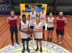 Players show leadership qualities in basketball trials