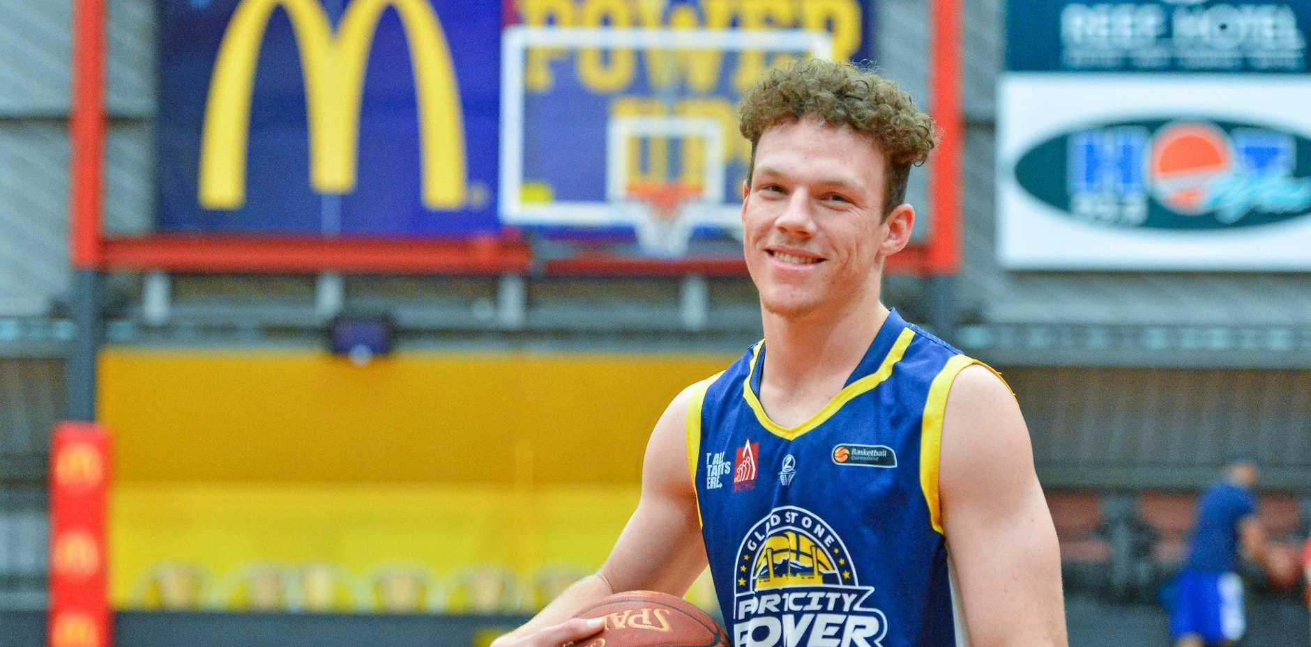 CONTINUING THE CHARGE: Dylan Owen has signed up for another year with Port City Power.