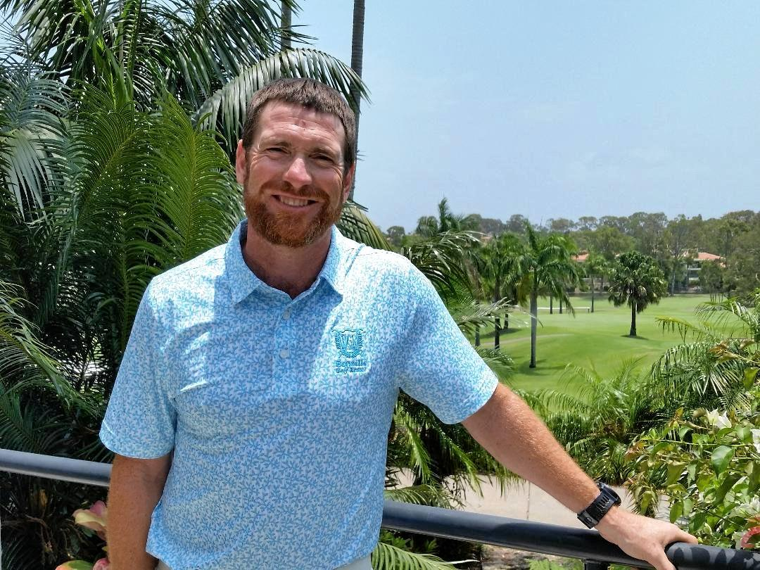READY TO PLAY: Jason Akermanis will compete at Noosa Springs.