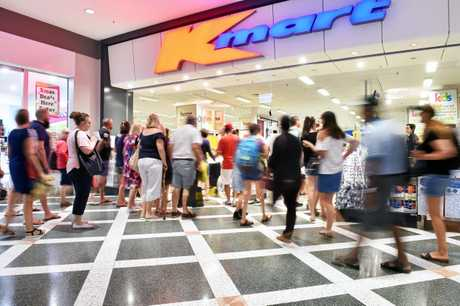 Boxing Day sales at Kmart, Sunshine Plaza.