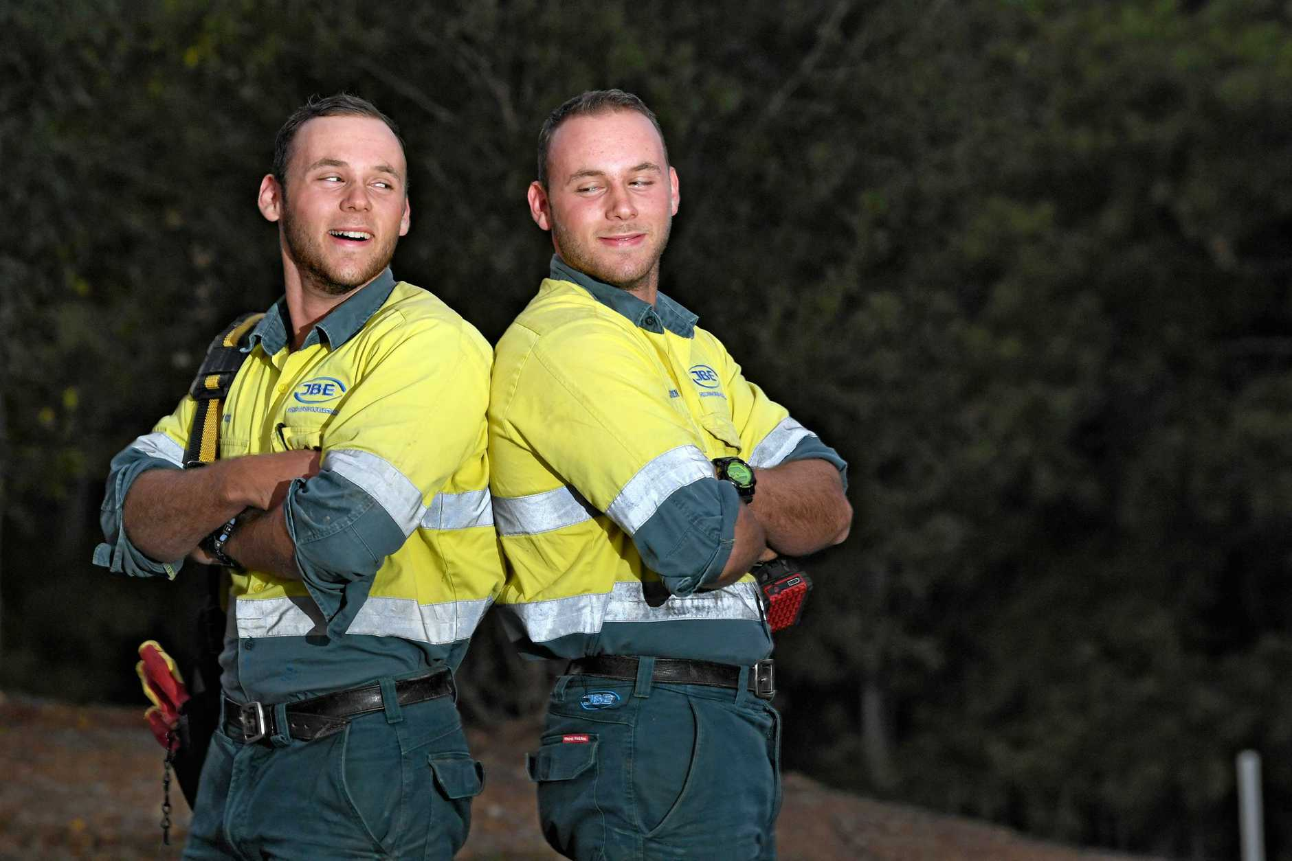 Bachelors Bryce and Kieren Googe from Gympie.