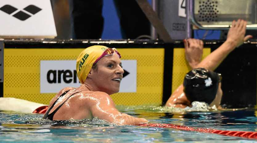 Australia's Emily Seebohm has backed a proposed strike if FINA goes through with a threat to slap two-year bans on swimmers taking part in the rebel International Swimming League. Picture: Matt Roberts/AAP