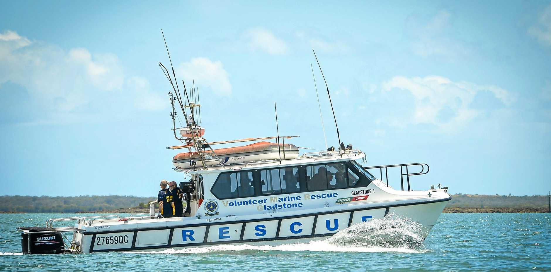 RAPID RESPONSE: Gladstone Volunteer Marine Rescue, Gladstone 1 VMR.