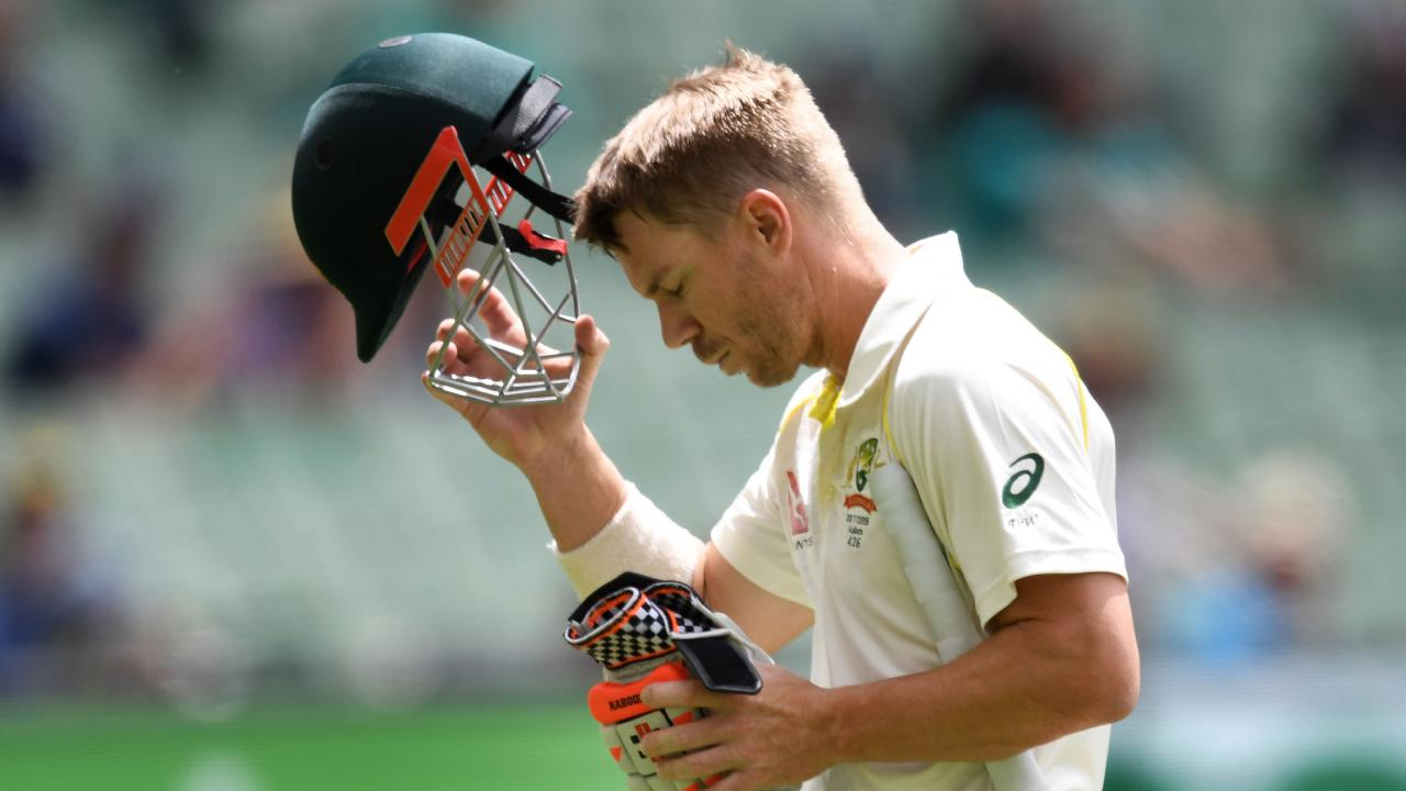 David Warner's international career is at a crossroads. Picture: AFP