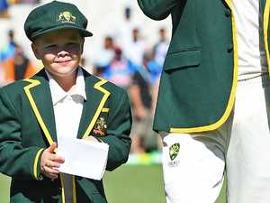 Boxing Day Test delivers wish for 7-year-old Aussie hero