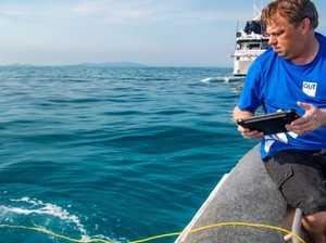 'Underwater crop duster' used to regenerate reef