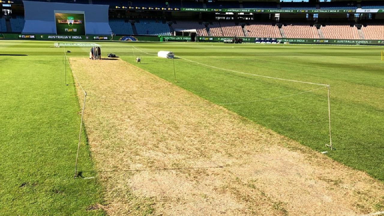 The MCG deck is looking different than usual.