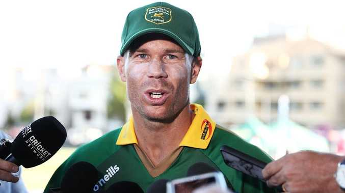 David Warner faces a tough road ahead. Picture: Mark Metcalfe/Getty