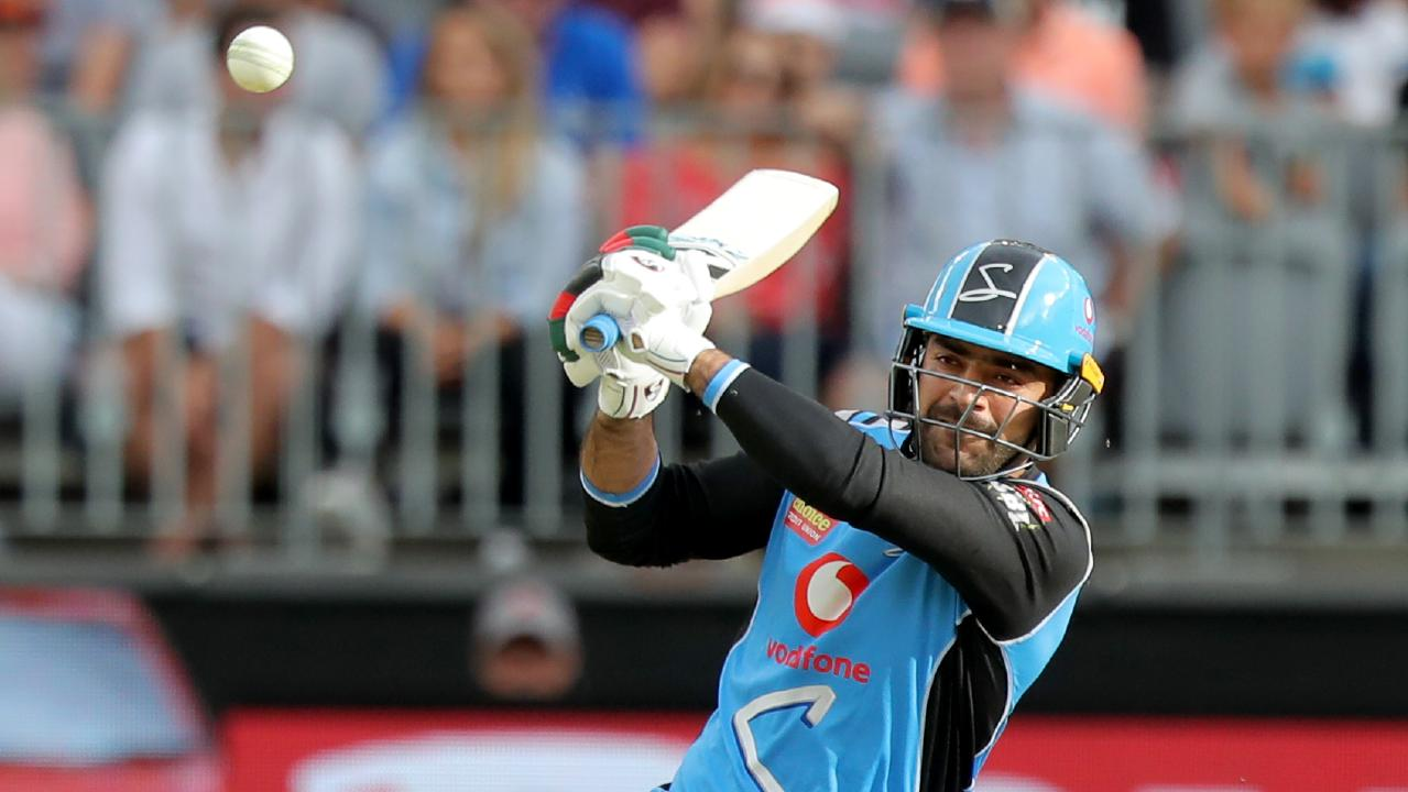 Rashid Khan showed his capabilities with the bat against the Perth Scorchers on Boxing Day.