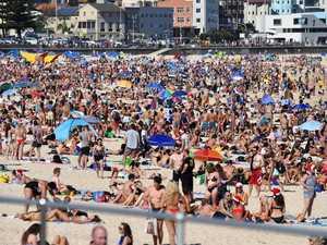 Sand-emonium at packed beaches