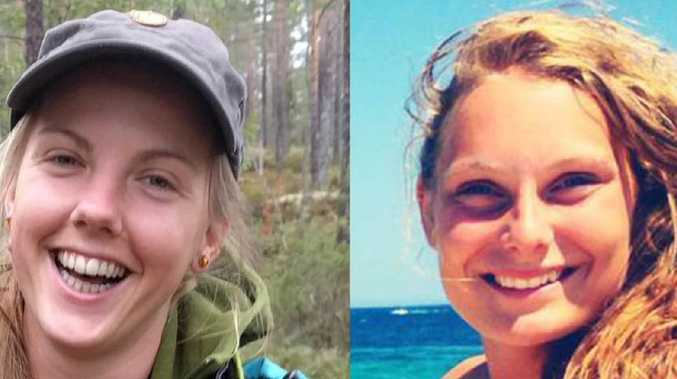 The mutilated bodies of Maren Ueland, 28, (left) and Louisa Vesterager Jespersen, 24, were found by fellow tourists in the High Atlas Mountains on December 17. Pictures: Facebook